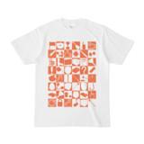 シンプルデザインTシャツ 四八シュプール(CHOCOLATE)