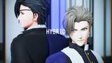 【MMD刀剣乱舞】HYBRID / へし切長谷部・燭台切光忠