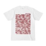 シンプルデザインTシャツ TOY☆TANKER(MAROON)
