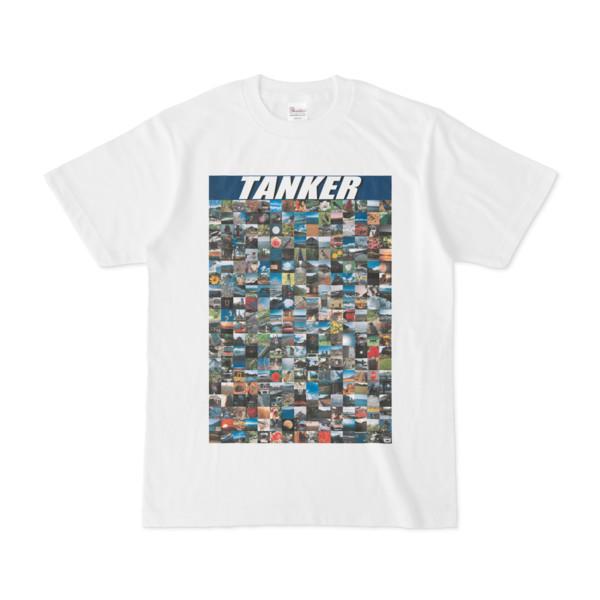 シンプルデザインTシャツ TANKER_300(NAVY)