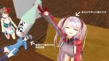 【MMD艦これ】SS 小さな勇気 一場面 飲んだくれオイゲン【MMDアズールレーン】
