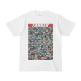シンプルデザインTシャツ TANKER_300(CRIMSON)