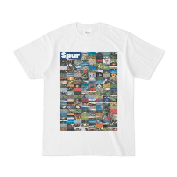 シンプルデザインTシャツ Spur=170(NAVY)