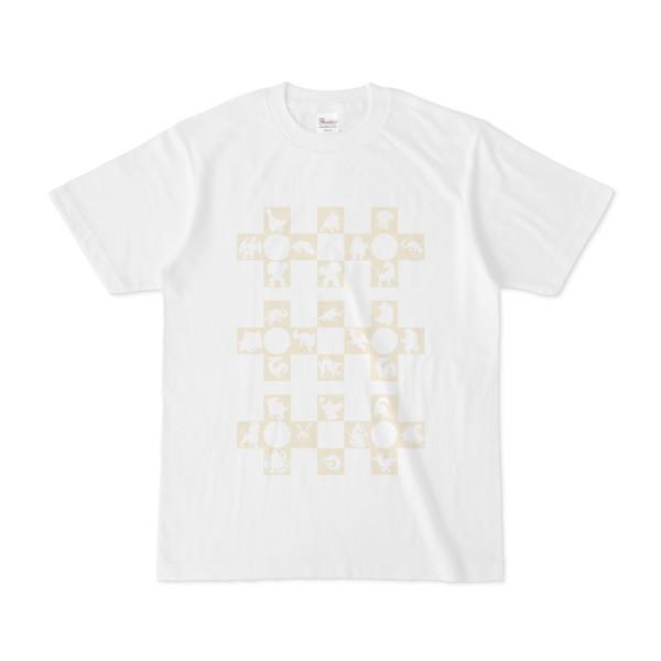 シンプルデザインTシャツ Cr/MONSTER(BEIGE)