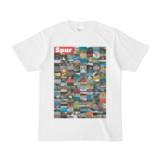 シンプルデザインTシャツ Spur=170(CRIMSON)