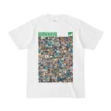 シンプルデザインTシャツ ANIMAL☆TANKER(GREEN)