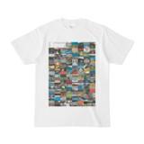 シンプルデザインTシャツ Spur=170(SILVER)