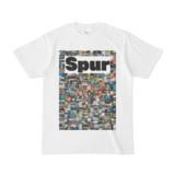 シンプルデザインTシャツ NC7.Spur_232(WHITE)