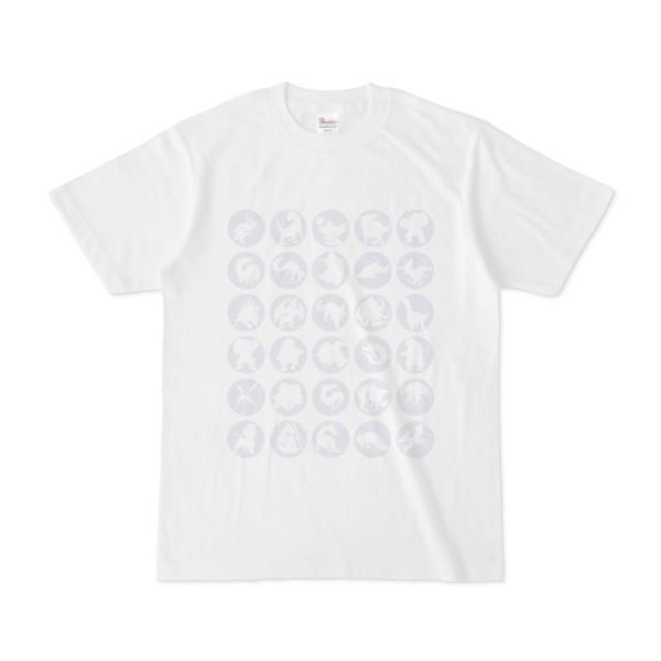 シンプルデザインTシャツ C.MONSTER(LAVENDER)