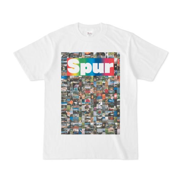 シンプルデザインTシャツ NC7.Spur_232(RAINBOW)