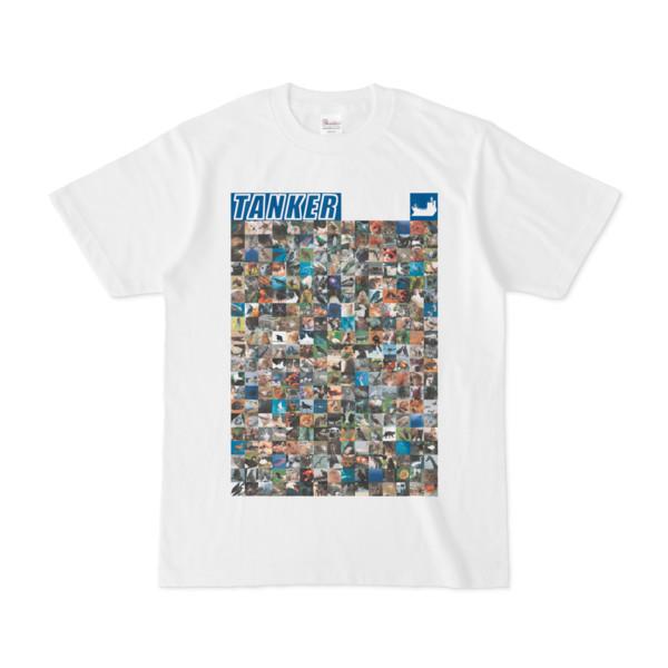 シンプルデザインTシャツ ANIMAL☆TANKER(BLUE)