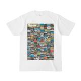シンプルデザインTシャツ Spur=170(OLIVE)
